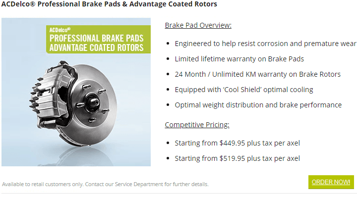 vehicle brake services near me burnaby
