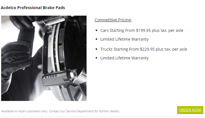 brake service burnaby gm certified