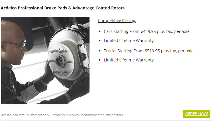 car truck brake service burnaby