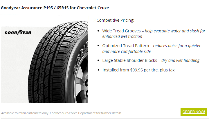 goodyear tires burnaby carter gm