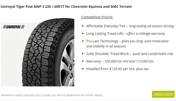 uniroyal tiger paw tires burnaby