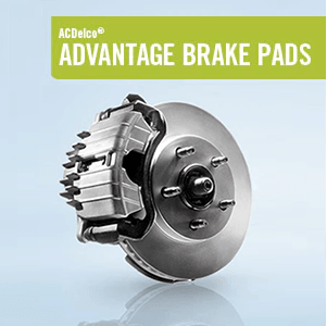 ACDelco Advantage Brake Pads