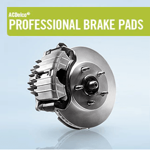 ACDelco Professional Brake Pads