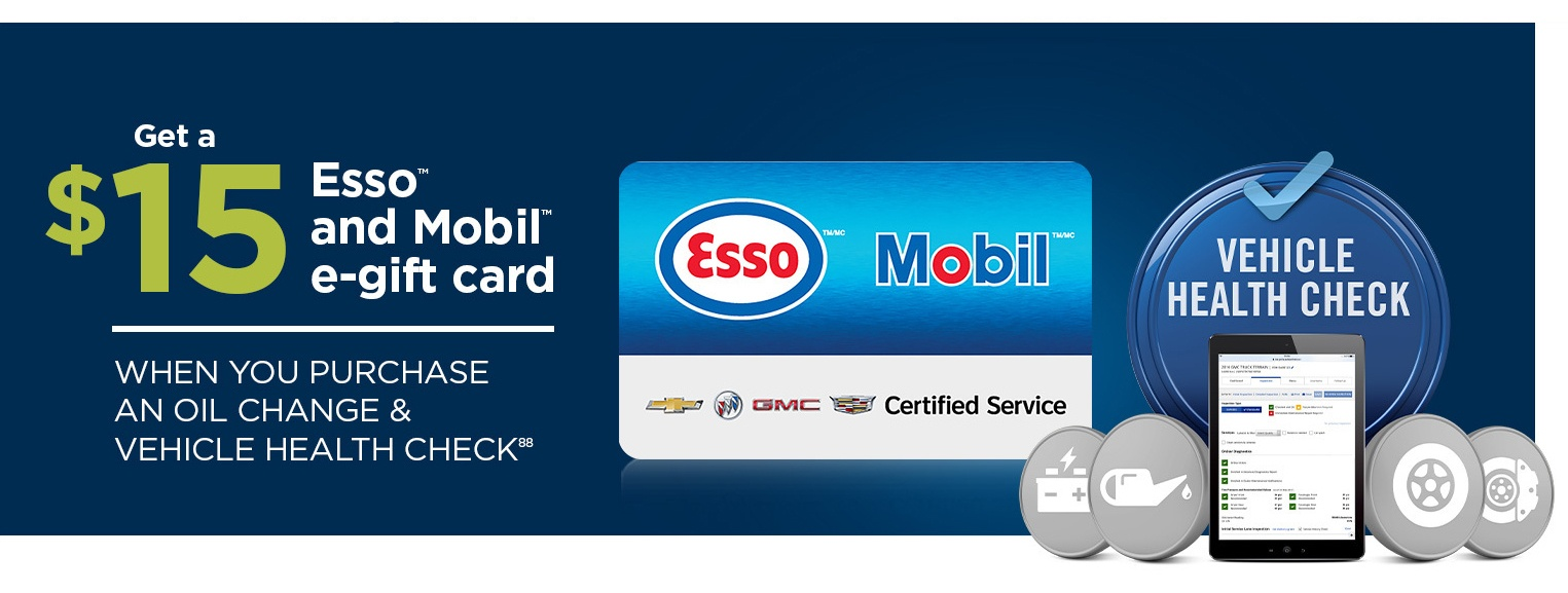 Summer Esso Promotion at Carter GM Burnaby BC