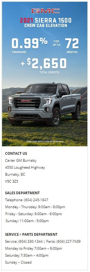 GMC-2021-Sierra-1500-Crew-Cab-Elevation-Carter-GM-Burnaby-BC